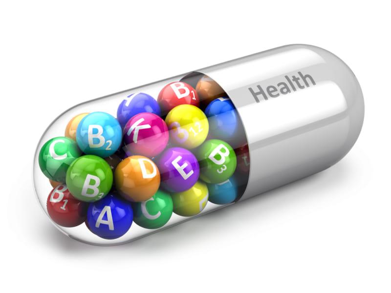 体に必要なさまざまな栄養素の詰まったカプセル。