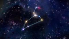 しし座流星群は、しし座が放射点(この方角から飛び出すように見える)である