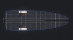 デッキがすべてソーラーパネル