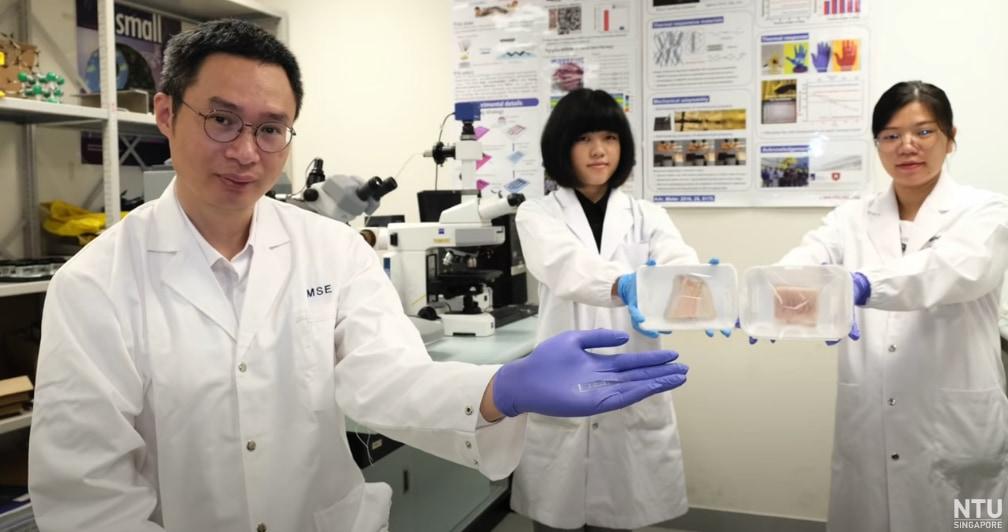 チェン氏ら研究チームによる電子鼻のテスト