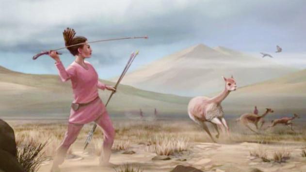 """約9000年前の狩猟民の遺骨から「女性も狩りをしていた」と判明、""""男性ハンター説""""が覆る!?"""