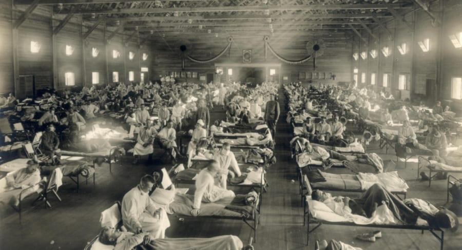 スペイン風邪は全世界で1億人以上を殺したが、終息後には別の感染症が増加した