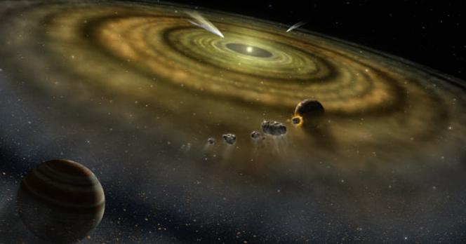 太陽系の形成は「たった20万年」という短い期間で行われた可能性がある