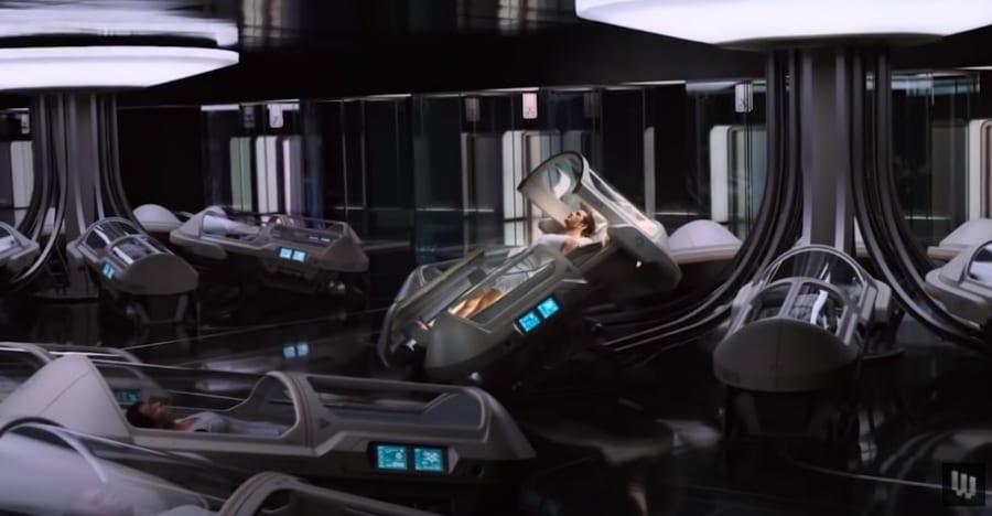 SFの定番、コールドスリープ。宇宙旅行には必須になると考えられる。