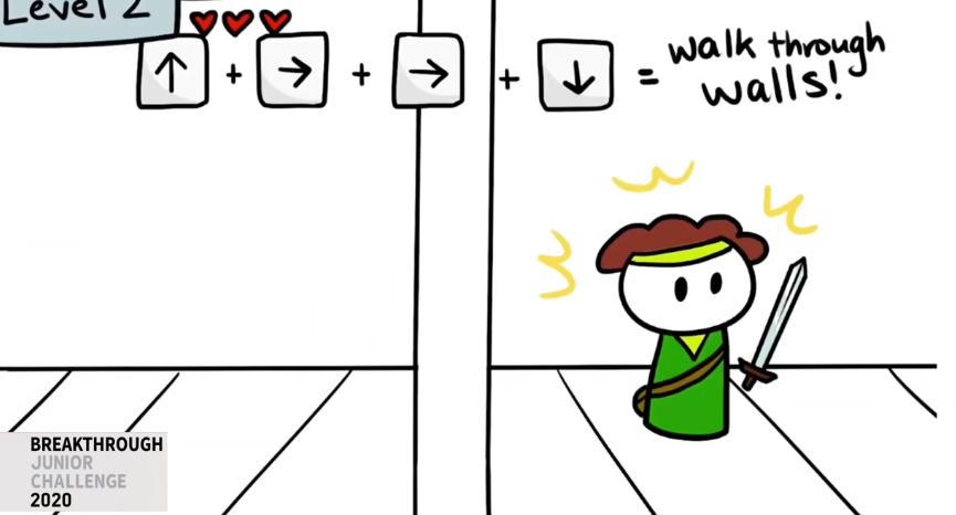 量子トンネルとは、ゲームキャラクターがチートで壁を通り抜けるようなもの