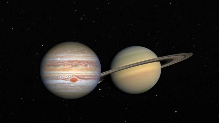 21日夕方、土星と木星の「400年ぶりの超大接近」が見られます!