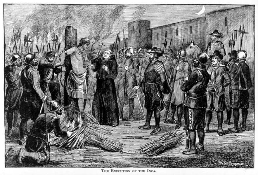 アタワルパの処刑