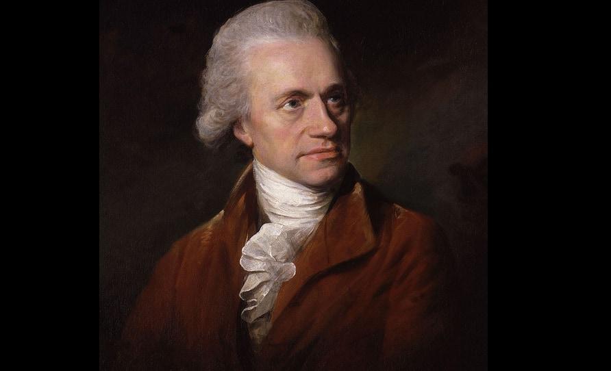 ウィリアム・ハーシェルの肖像。イギリスの天文学者だがドイツ人であり、もともとの名前の発音はヴィルヘルム・ヘルシェル。