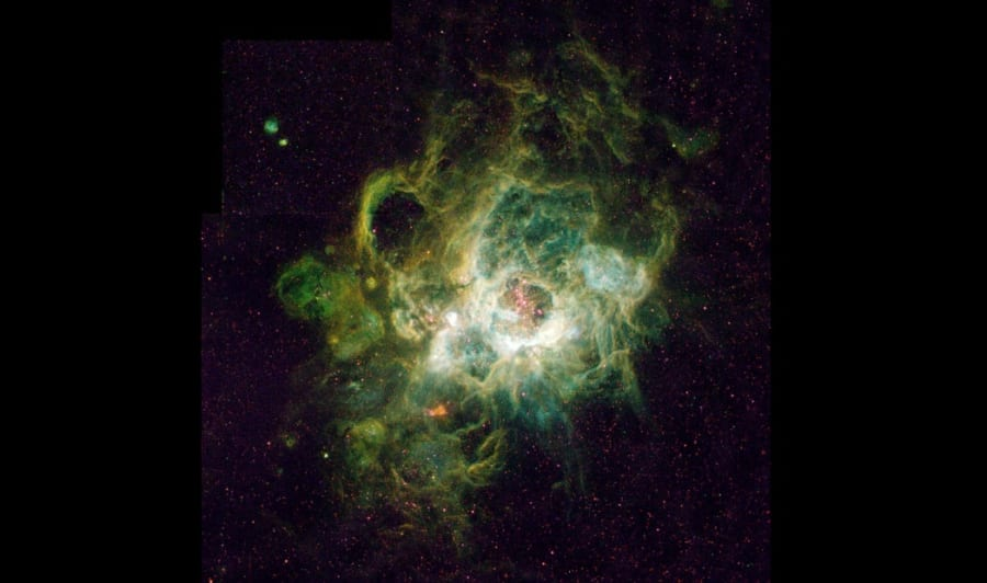 星雲(NGC 604)。