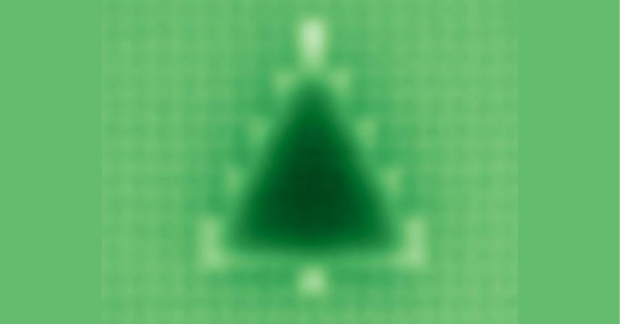 量子力学で彫刻された「世界最小のクリスマスツリー」