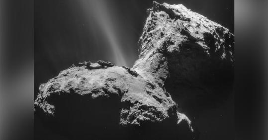 67P彗星の塵の分析から、生命誕生に重要な元素リンがついに発見される