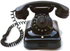 ベークライトを使った電話