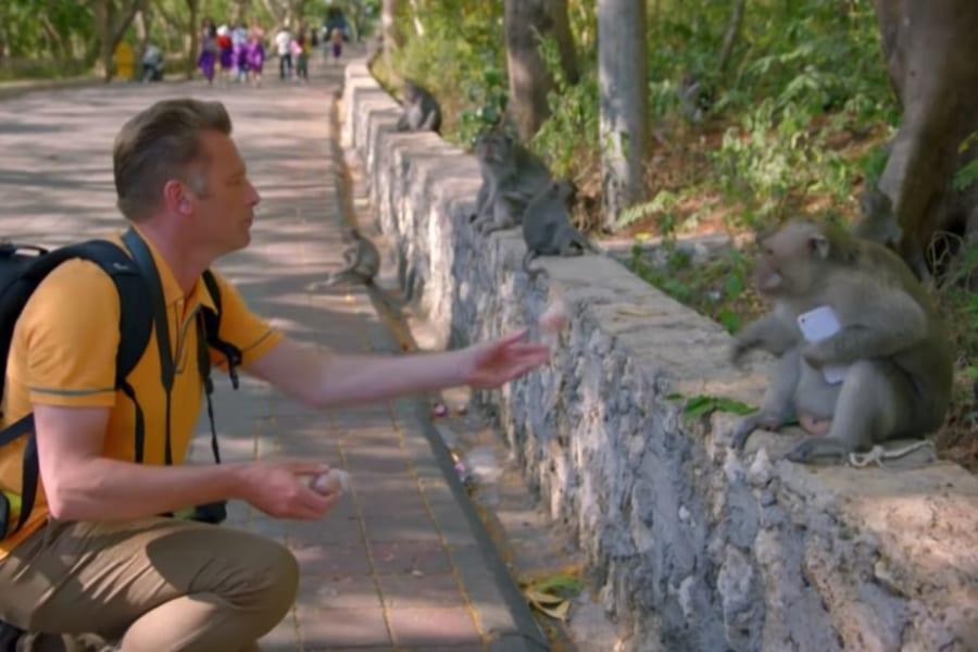 バリ島のサルは観光客から盗んだスマホを担保に「ゆすり」をすることが判明