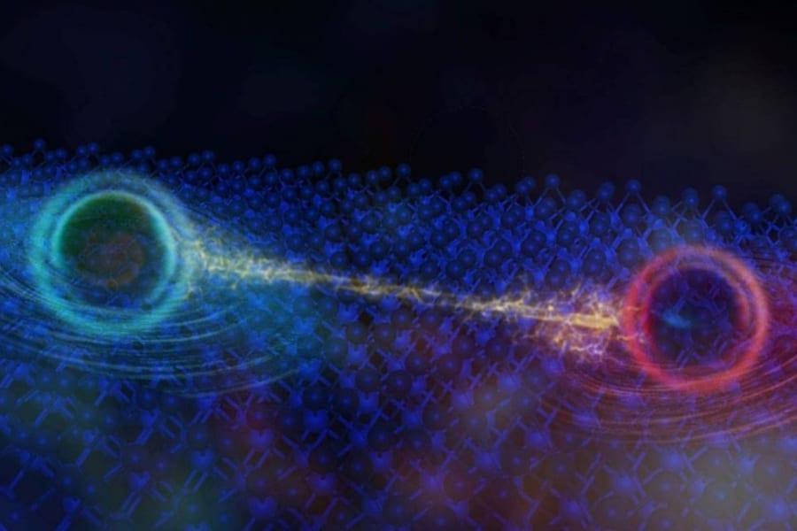 電子の塊で作られた「未知の準粒子」を発見? 絶縁体で初めて量子振動が確認される!