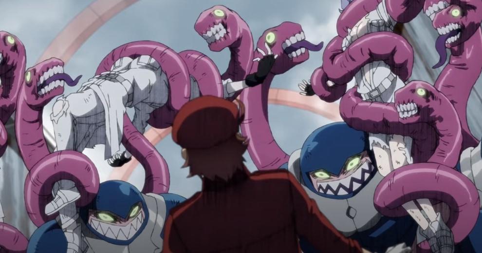 アニメ「はたらく細胞BLACK」の中で描かれた淋菌。