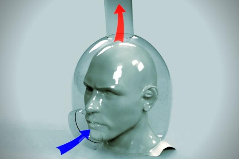 空気を「吸い込み」ウイルスの伝染を99.6%ブロックするヘルメットが開発される