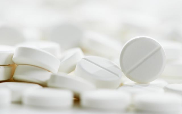 抗生物質の錠剤。