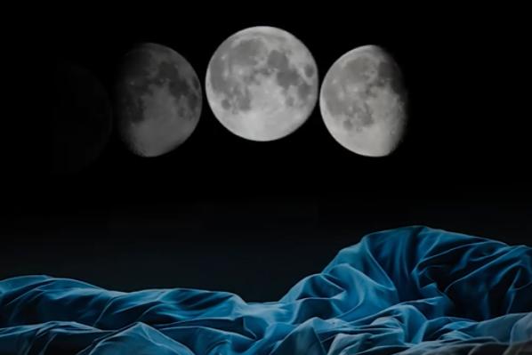 満月が近づくと「就寝時刻が遅くなり、睡眠時間も短くなる」ことが判明