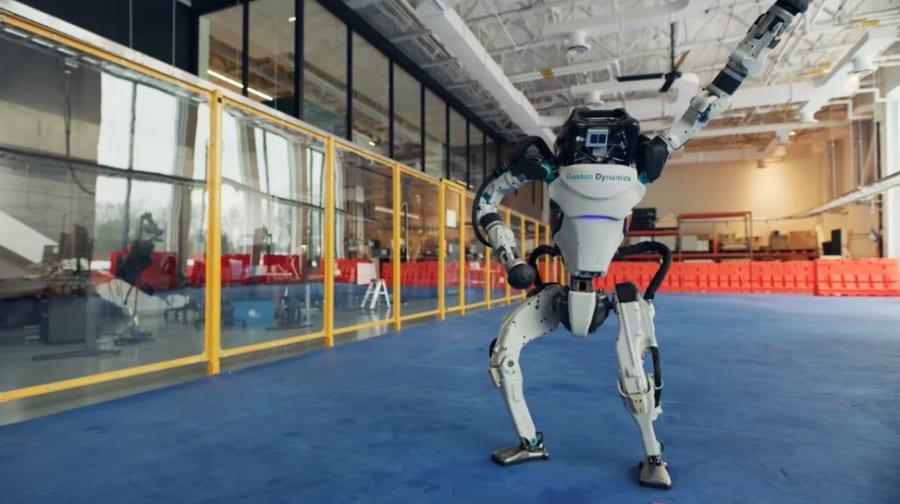 人型2足歩行ロボット「Atlas」