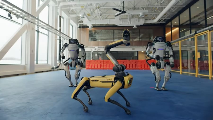 犬型4足歩行ロボット「Spot」