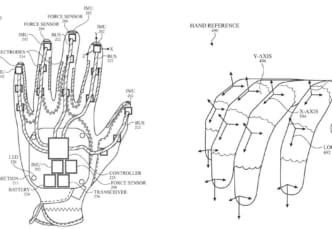 IMUが指の動きを検出