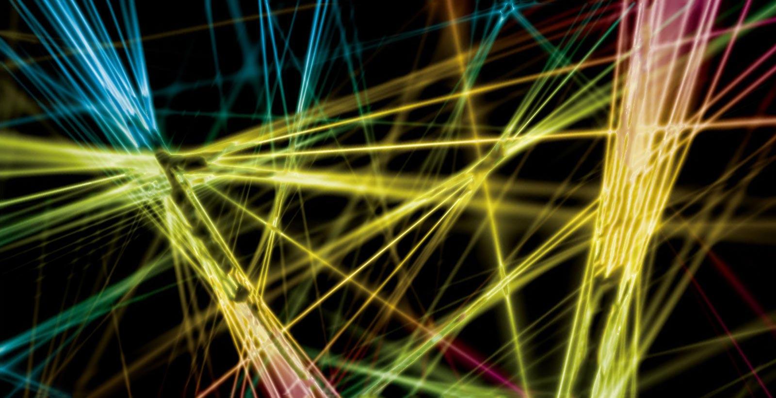 予測不可能なカオスシステムを光の経路で研究する。