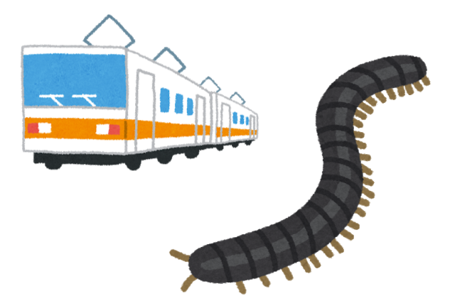 数年ごとに大量発生して日本の列車を止めるヤスデ、「8年周期のライフサイクル」持っていたことが判明!(ムシ注意)