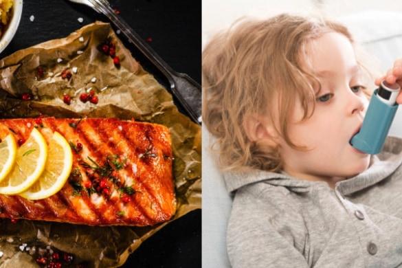 サケなど「脂の多い魚」をたくさん食べると喘息のリスクが低下するかもしれない