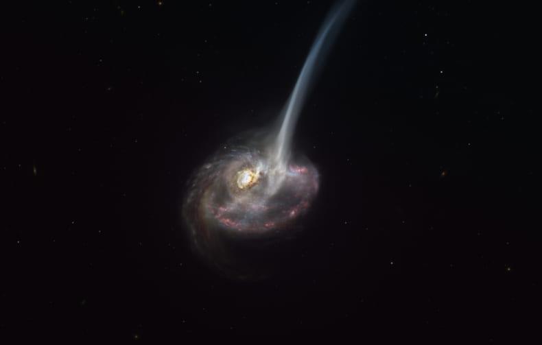 星を創る力を失った「瀕死の銀河」を観測。 いったい銀河はどうやって終わるのか?