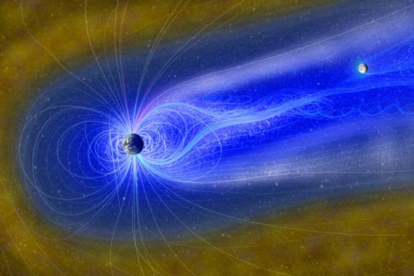 月で見つかる水は地球の磁気が撒いていたものかもしれない
