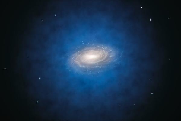 超大質量ブラックホールは「暗黒物質」で形成されているかもしれない