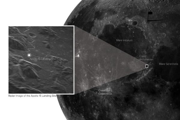 「地球上から」探査機で近づいたかのような高解像度の月面写真を撮影することに成功
