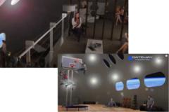 宇宙ホテルではバーも設置され、ジムでは低重力でのバスケットボールも楽しめる。