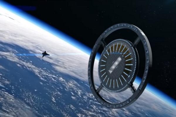 人工重力を備えた「宇宙ホテル」が2025年に建設開始予定 宇宙旅行が当たり前の世の中になる?