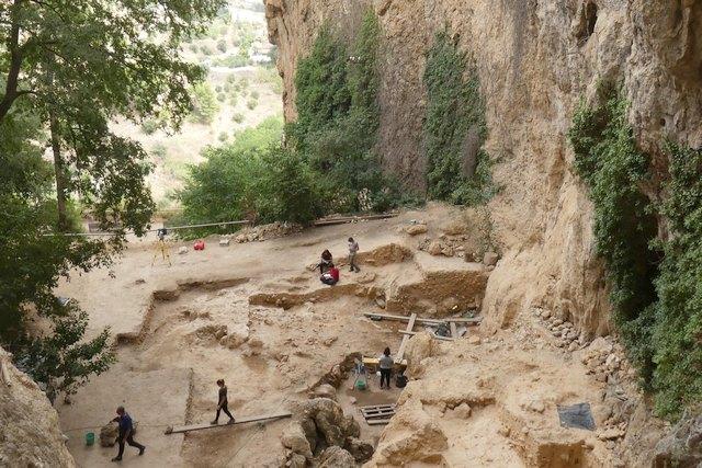 エルソルト(スペイン)の発掘現場。