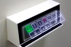 空中浮遊映像技術によるトイレパネル