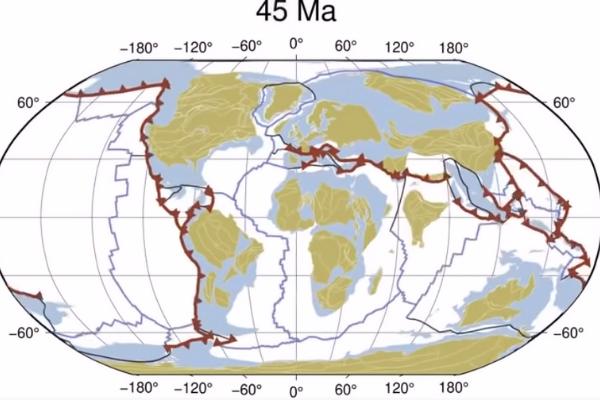 「40秒で10億年」地球の大陸移動を動画でたどる世界初の試み