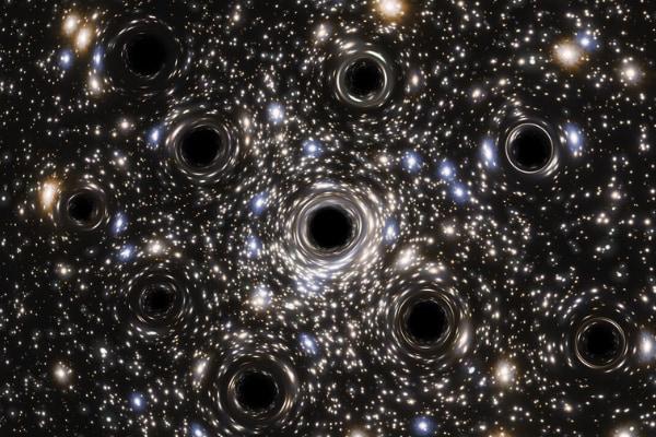 「小さなブラックホールの群れ」があらわれた! 球状星団の中心にあるのは、1つの大きなブラックホールではなかった