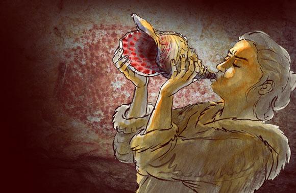 古代の音色が今ここに。「1万7000年前のホラガイ」の音を再現(フランス)