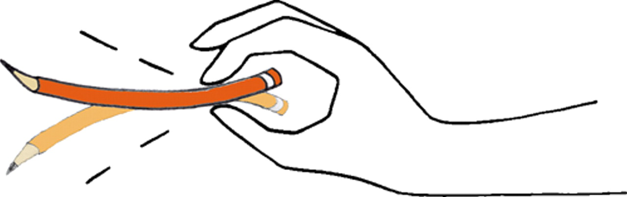 鉛筆が柔らかく見えるのはどうして?