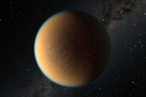 火山活動により大気を再生させた太陽系外惑星が見つかる