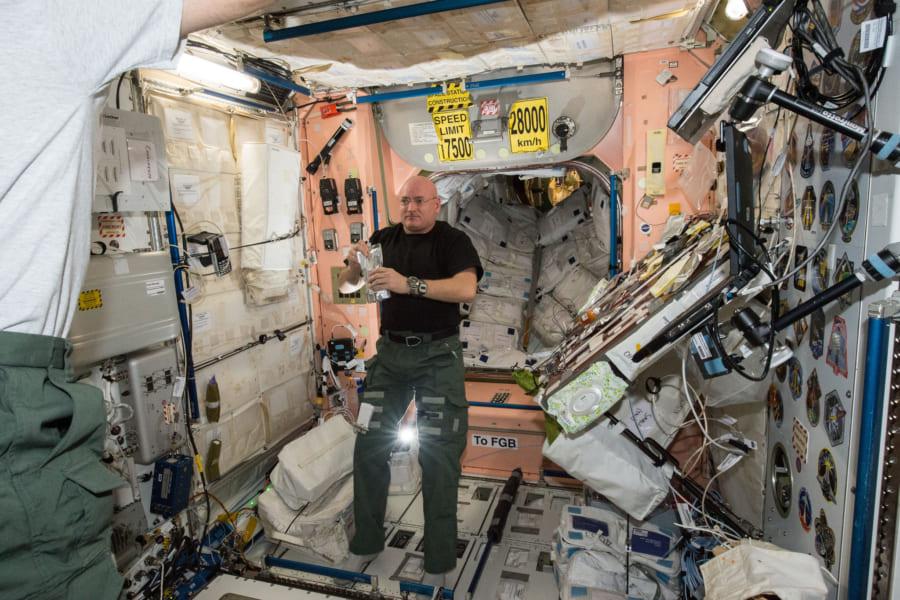 第43次長期滞在フライトエンジニアとして、1年間ISSに滞在した宇宙飛行士スコット・ケリー氏。