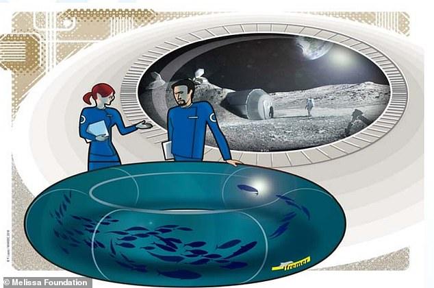 魚卵をロケットで月に運び、初の「宇宙養殖場」をつくる計画が進行中