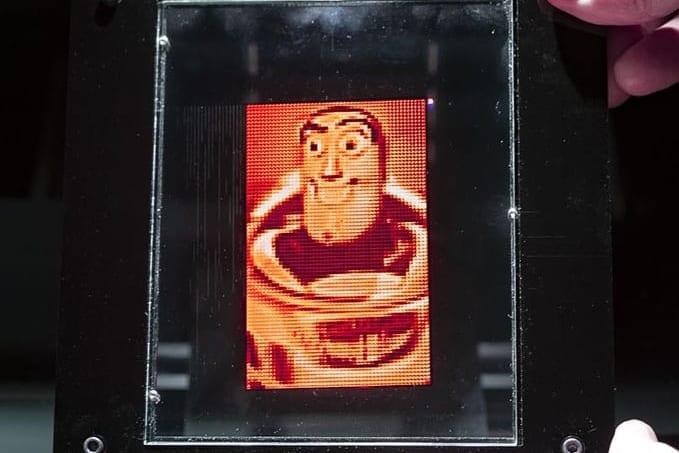 ホログラムプリンターで好きなキャラクターを印刷