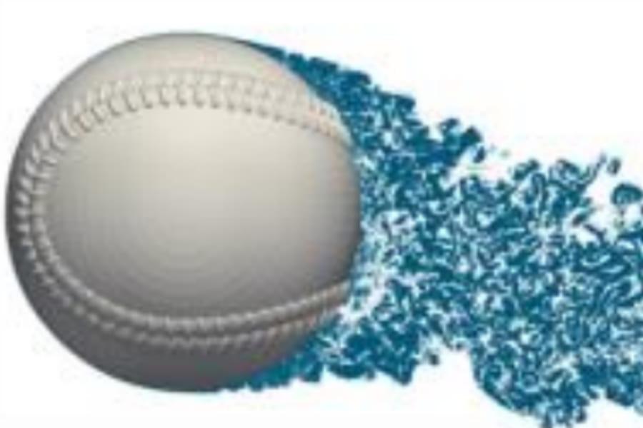 フォークボールが落ちる謎をスパコンで解明! バックスピンで上がるはずが逆に下がる「魔球」の物理法則