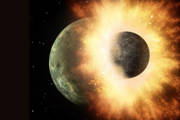 太平洋にはジャイアントインパクトを引き起こした「原始惑星テイア」が埋もれている可能性がある
