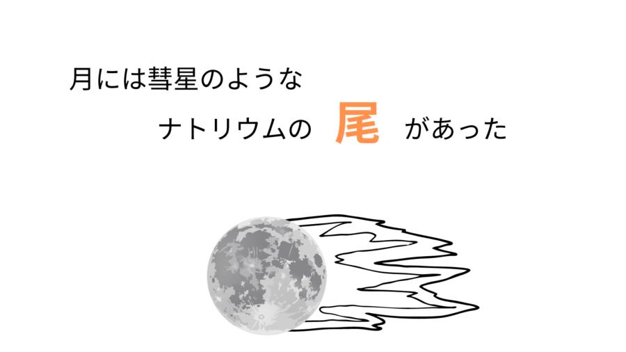 月には彗星のようなナトリウムの尾があった シミュレーションで再現に成功