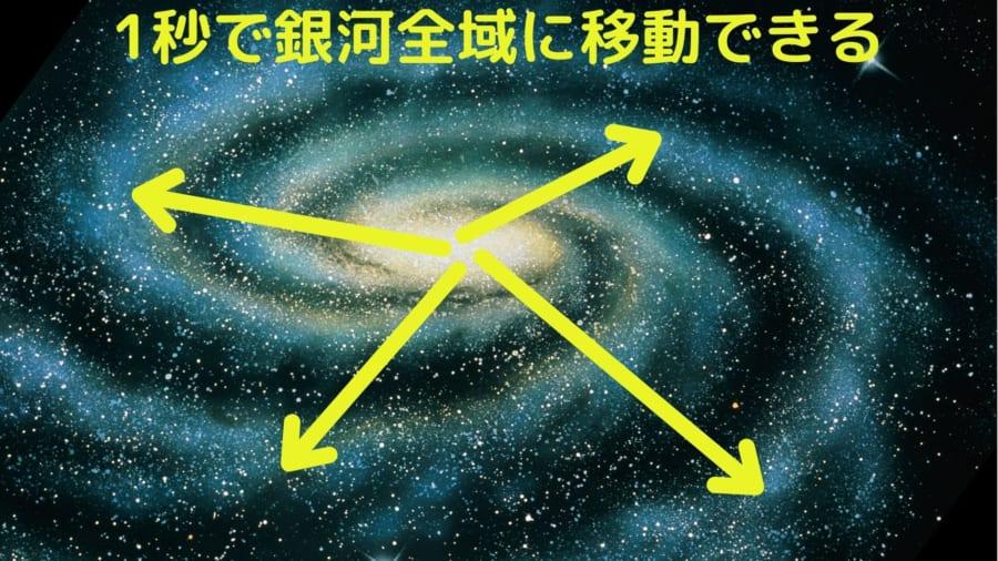 理論が正しければワームホールを使い銀河の何処にでも1秒未満で行ける