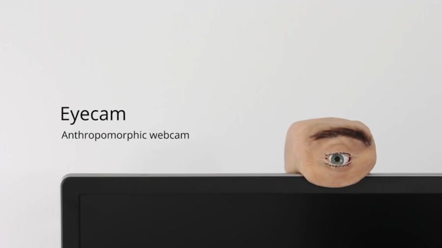 トラウマになりそう… 人の目を完全再現したウェブカメラ「Eyecam」が登場