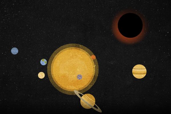 「もっとも小さく、もっとも地球に近いブラックホール」が見つかった?